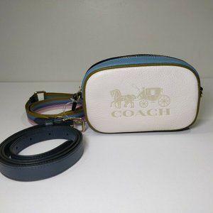 COACH 97654 JES CONVERTIBLE BELT BAG Leather